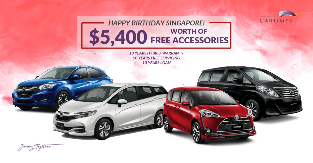 National Day Promotion at CarTimes!